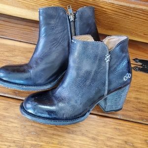 Bed Stu Distressed Leather Ankle Boot